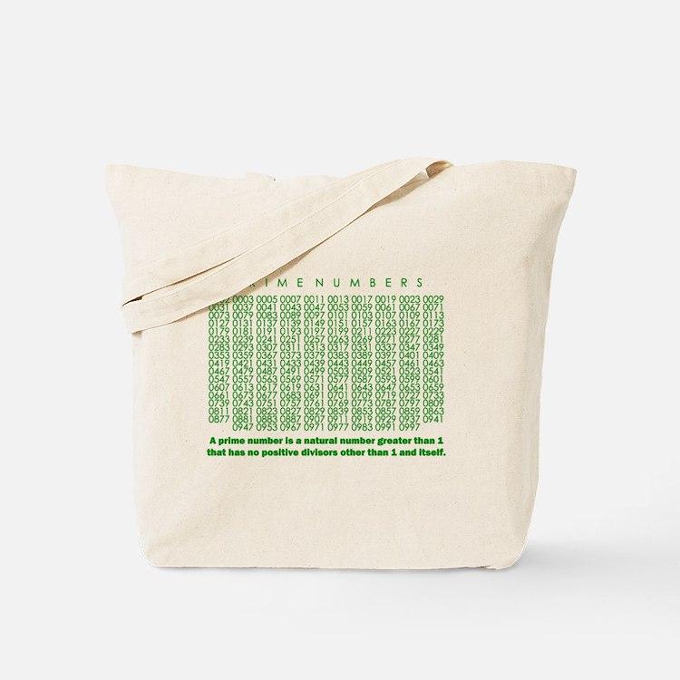 prime numbers: mathematics Tote Bag