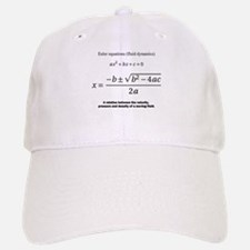 quadratic formula: Euler: mathematics Baseball Baseball Baseball Cap