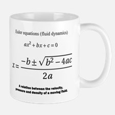 quadratic formula: Euler: mathematics Mugs