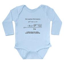quadratic formula: Euler: mathematics Body Suit