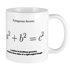 Pythagorean theorem: mathematics Mugs