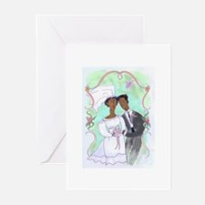 Bride and Groom Greeting Cards (Pk of 10)