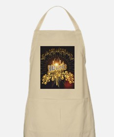 Music the word with saxophone Apron