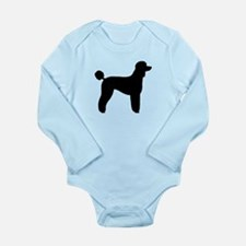Standard Poodle Long Sleeve Infant Bodysuit
