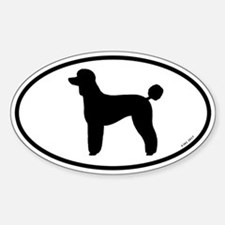 Poodle (Lamb Cut) Decal
