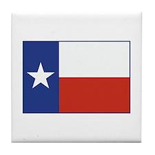 Flag Of Texas Tile Coaster