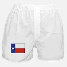 Flag Of Texas Boxer Shorts