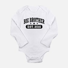 Big Brother Est. 2016 Long Sleeve Infant Bodysuit