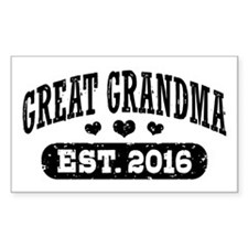 Great Grandma Est. 2016 Decal