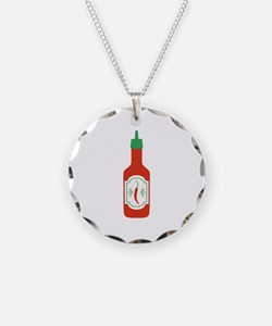 Hot Sauce Necklace