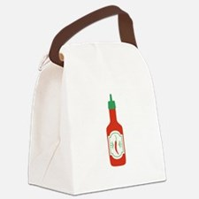Hot Sauce Canvas Lunch Bag