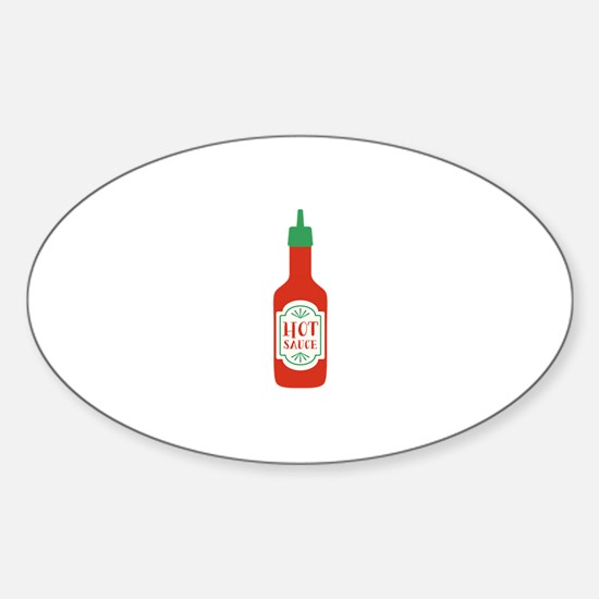 Hot Sauce Bottle  Decal