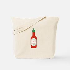 Hot Sauce Bottle  Tote Bag