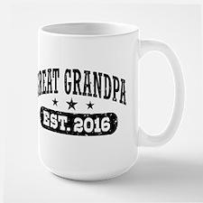 Great Grandpa Est. 2016 Mug