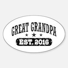 Great Grandpa Est. 2016 Decal