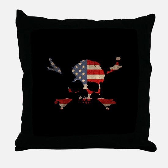 Scalawag USA Throw Pillow