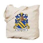 Constantin Family Crest  Tote Bag