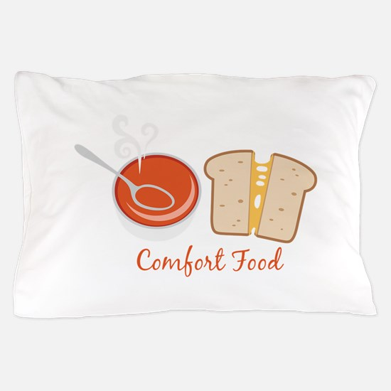 Comfort Food Pillow Case