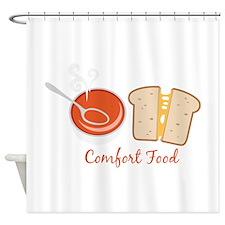 Comfort Food Shower Curtain