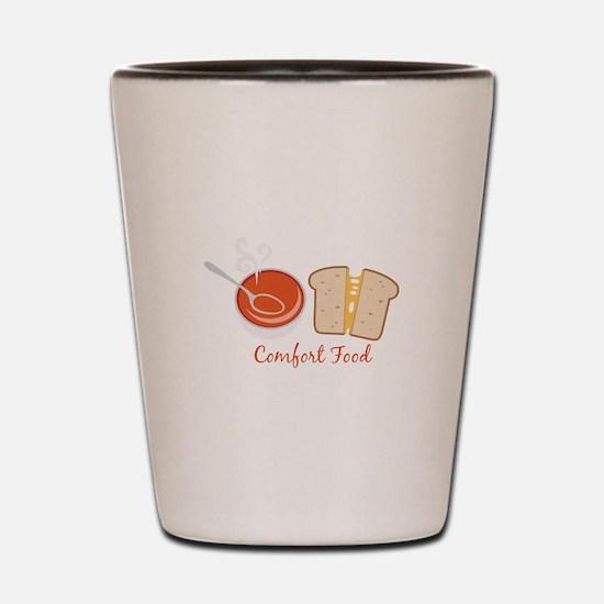 Comfort Food Shot Glass