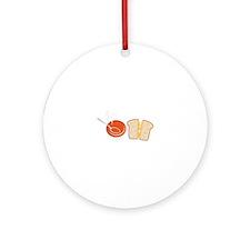 Soup & Sandwich Ornament (Round)