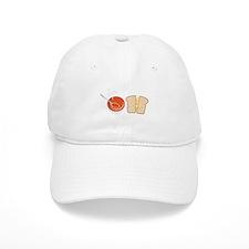 Soup & Sandwich Baseball Baseball Cap