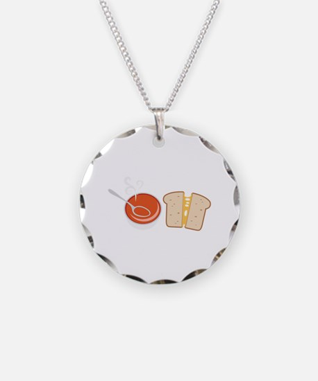 Soup  & Sandwich Necklace