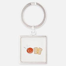 Soup & Sandwich Keychains