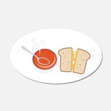 Soup  & Sandwich Wall Decal