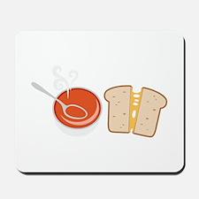 Soup & Sandwich Mousepad