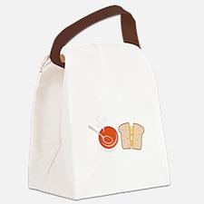 Soup & Sandwich Canvas Lunch Bag