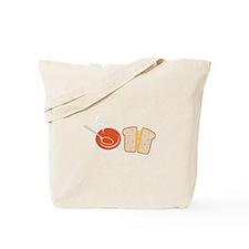 Soup & Sandwich Tote Bag