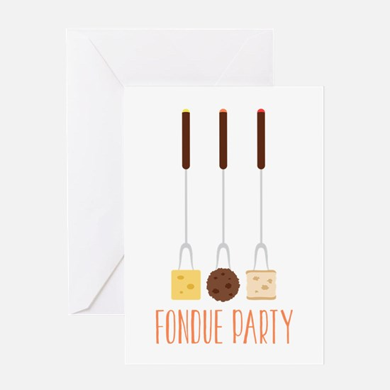 Fondue Greeting Cards – Fondue Party Invitations