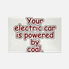 Coal Rectangle Magnet
