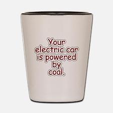 Coal Shot Glass