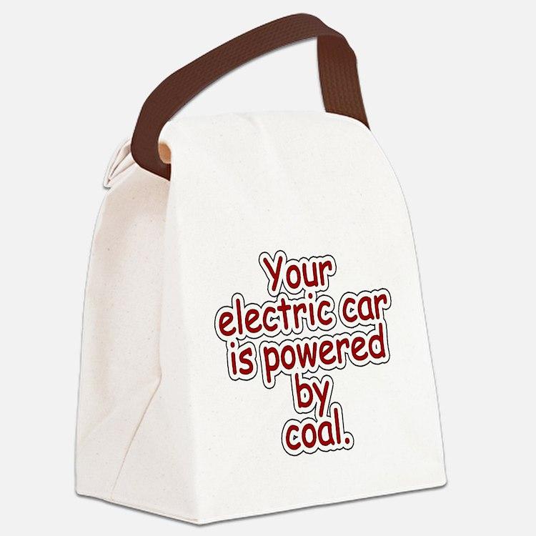 Coal Canvas Lunch Bag
