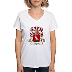 Colomb Family Crest Women's V-Neck T-Shirt