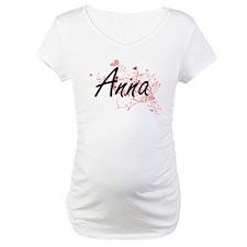 Anna Artistic Name Design with H Shirt