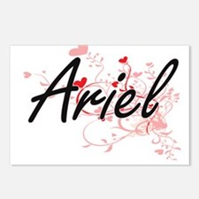 Ariel Artistic Name Desig Postcards (Package of 8)