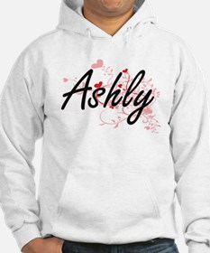 Ashly Artistic Name Design with Hoodie