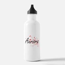 Aurora Artistic Name D Water Bottle
