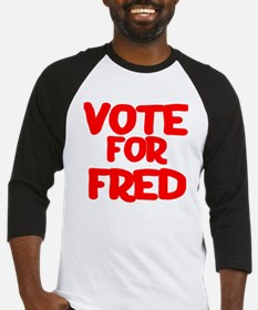 Vote for Fred in '08 Baseball Jersey