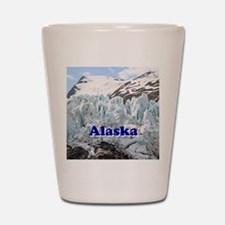 Alaska: Portage Glacier, USA Shot Glass