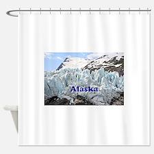 Alaska: Portage Glacier, USA Shower Curtain