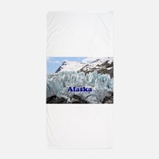 Alaska: Portage Glacier, USA Beach Towel