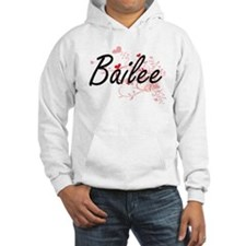 Bailee Artistic Name Design with Hoodie Sweatshirt