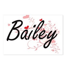 Bailey Artistic Name Desi Postcards (Package of 8)