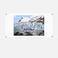 Alaska: Portage Glacier, USA Banner