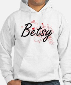 Betsy Artistic Name Design with Hoodie
