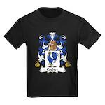 Cochet Family Crest Kids Dark T-Shirt